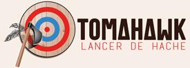 Lancer de hache Nice – TOMAHAWK Logo